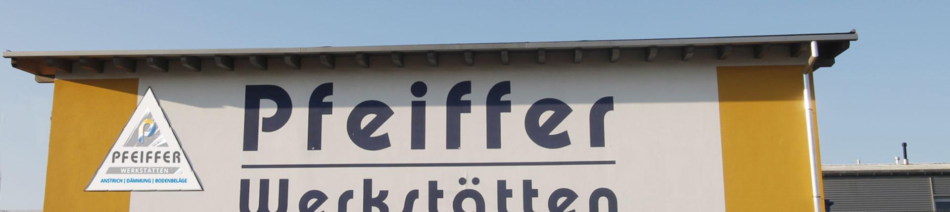 Pfeifer Werkstätten